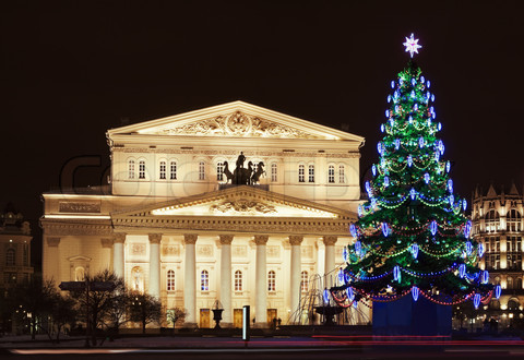 Bolshoi Theatre (Large, Great or Grand Theatre, also spelled Bol