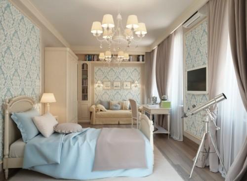 Blue-Cream-traditional-bedroom-665x488
