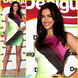 irina-shayk-presents-new-desigual-campaign-in-spain