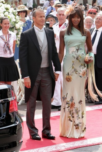 Vladimir-Doronin-and-Naomi-Campbell-in-mint-green-floral-column-dress-at-Prince-Albert-II-of-Monaco-and-Charlene-Wittstock-Wedding-2-e1309664137754