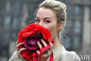 TBT:  Ulyana Sergeenko's Russian RedFlower