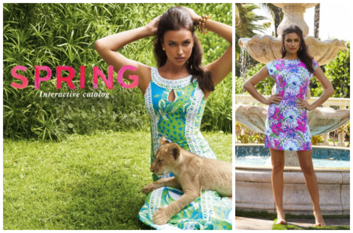 Irina Shayk's looking Vibrant In Lily Pulitzer's SS 2014Campaign