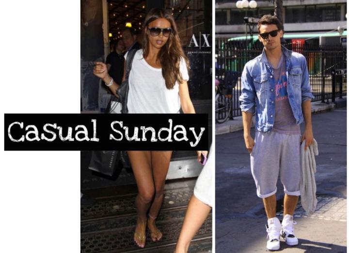 Casual Sunday: Irina Shayk & Arthur KulkovStyle