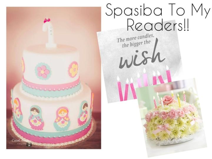 Happy First BirthdayBlog!