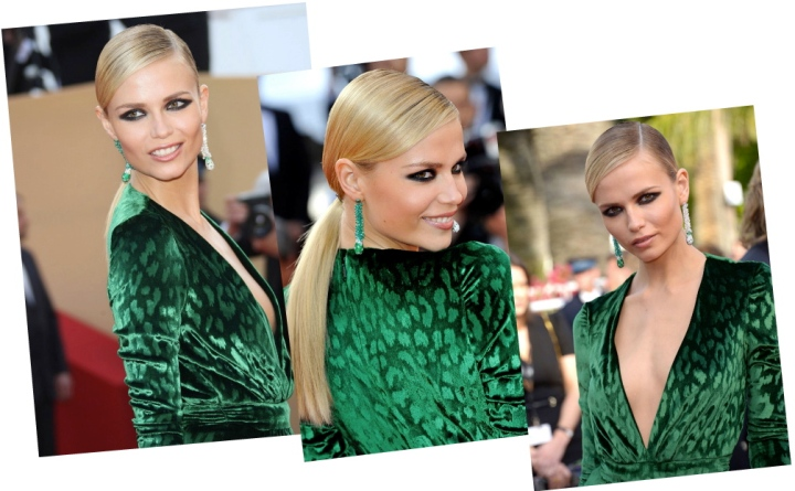 Natasha Poly's Sultry Smokey Eyes + Get Thelook