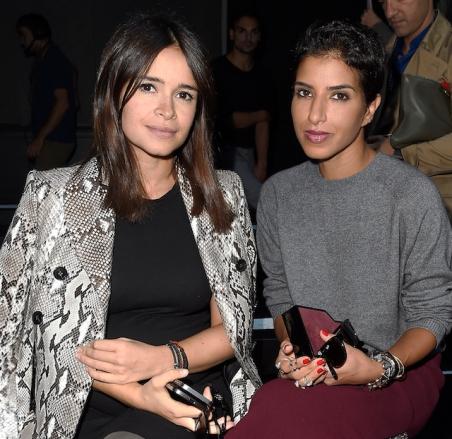 Moncler Gamme Rouge  : Front Row - Paris Fashion Week Womenswear Spring/Summer 2015