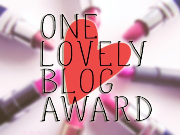 Spasiba For The One Lovely BlogAward