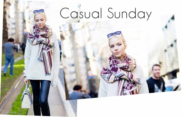 Casual Sunday: Sasha Luss Is CityCool