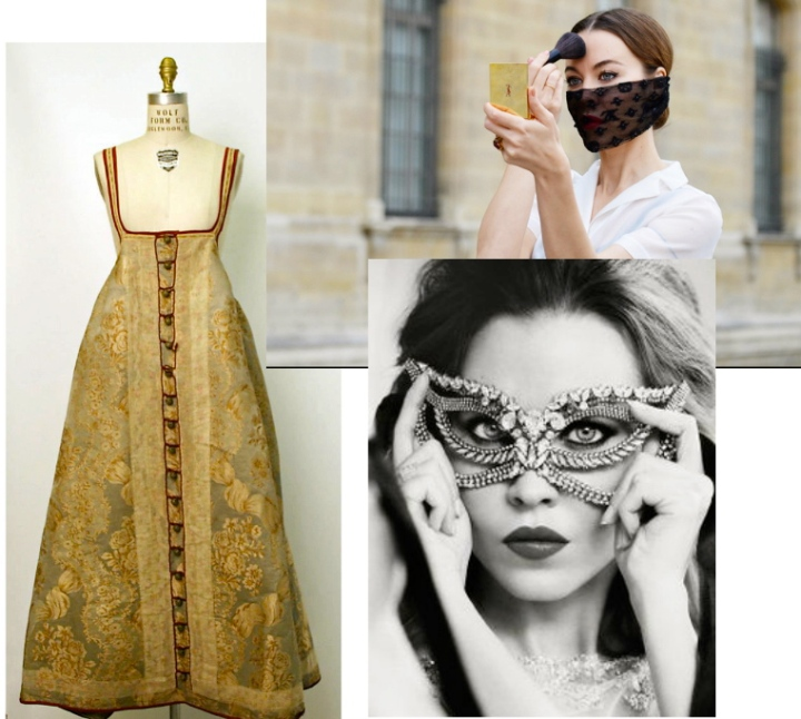 Trick Or Chic: D.I.Y Masquerade Mask, Inspired By Imperial Russia & UlyanaSergeenko
