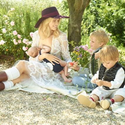 Elena Perminova Children