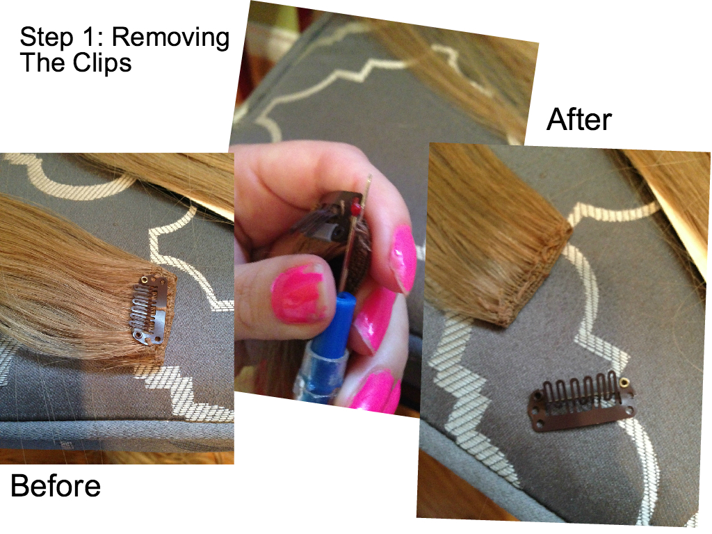 How To Make Homemade Clip In Hair Extensions Picture Gallery