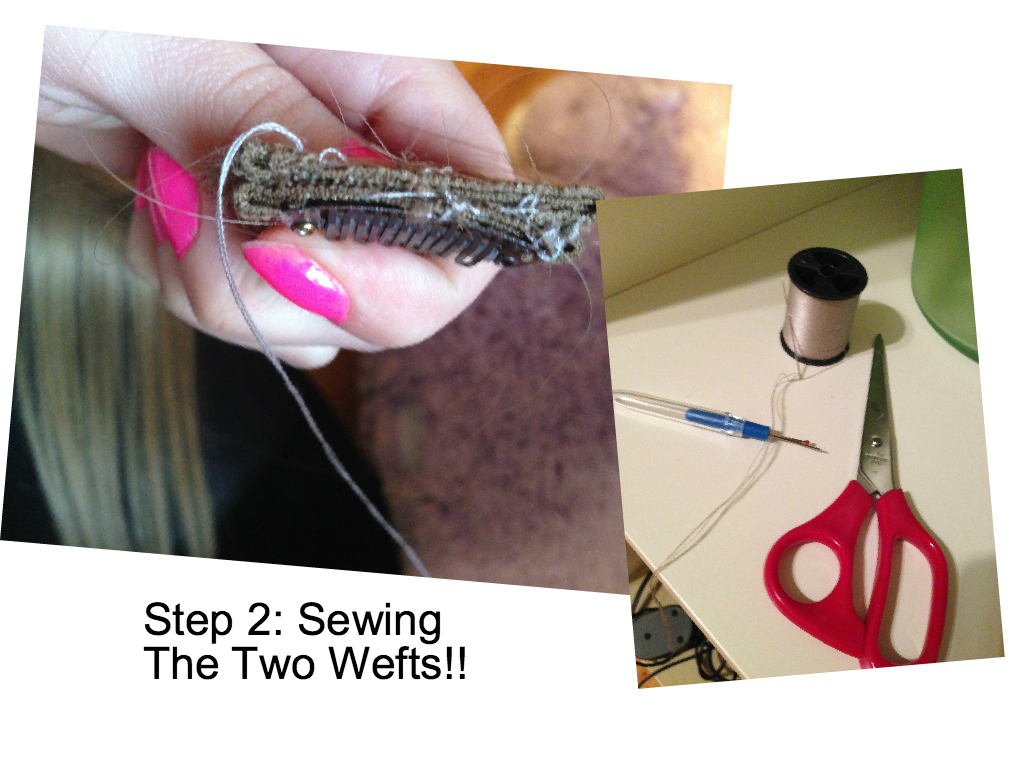 Why You Should Sew Together Your Clip In Hair Extension Wefts