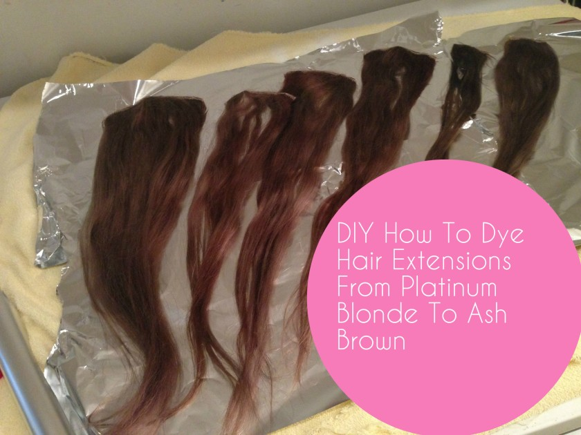 How To Colour Hair Extensions Zaychishka