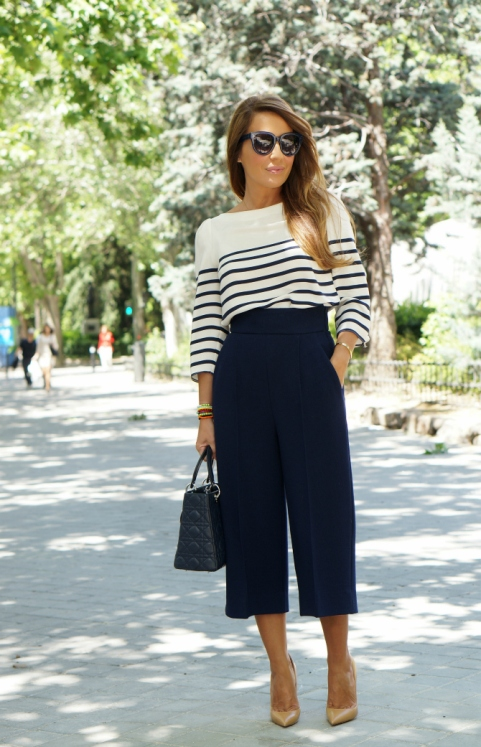 01a-street style-culottes-trend-navy-so kate-kid-nude-blush 2-christian louboutin-lady dior-blue-dior-con dos tacones-c2t