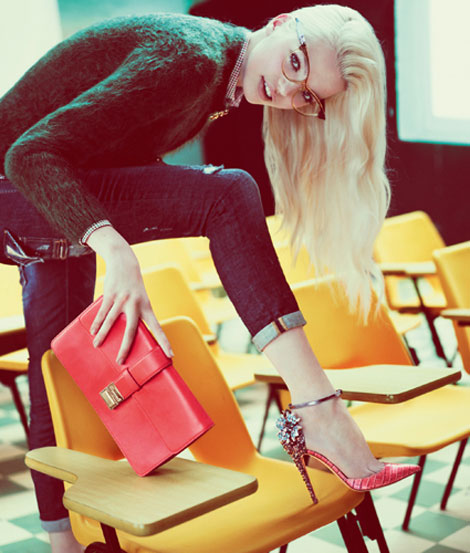Daphne-Groeneveld-DSquared2-Fall-2012-campaign