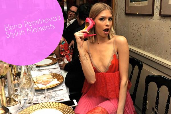 Elena Perminova's Top StyleMoments