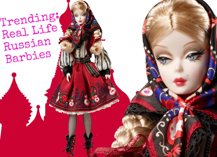 Real Life Russian BarbieDolls