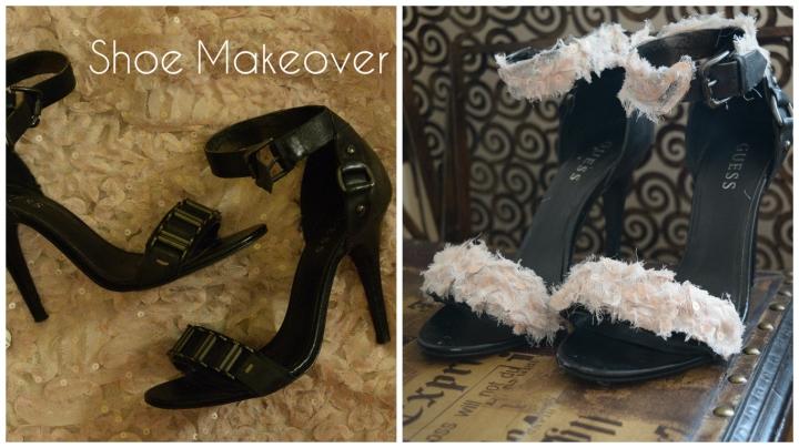 DIY Shoe Makeover (Repurpose Your OLDHeels)