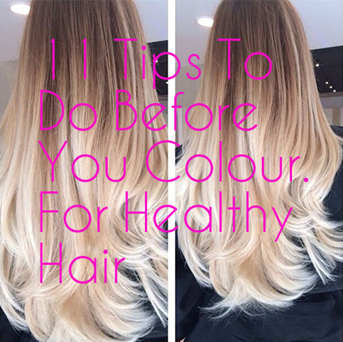 11 Tips For Restoring Hair Health Before YouColour