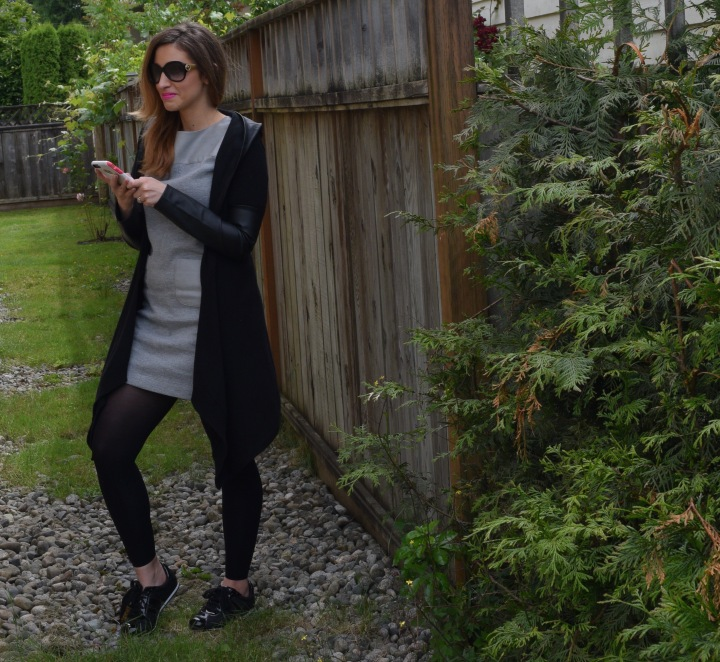 An Athleisure Inspired Look *On The Go Style*
