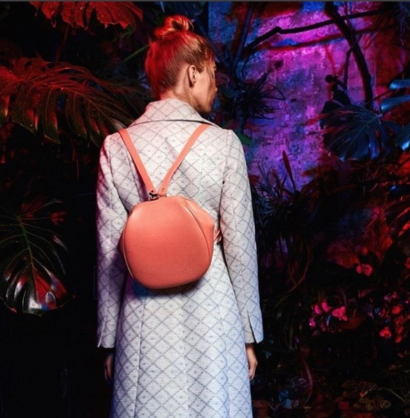Ulyana Sergeenko's Leather Backpack 'Hit OrMiss?'