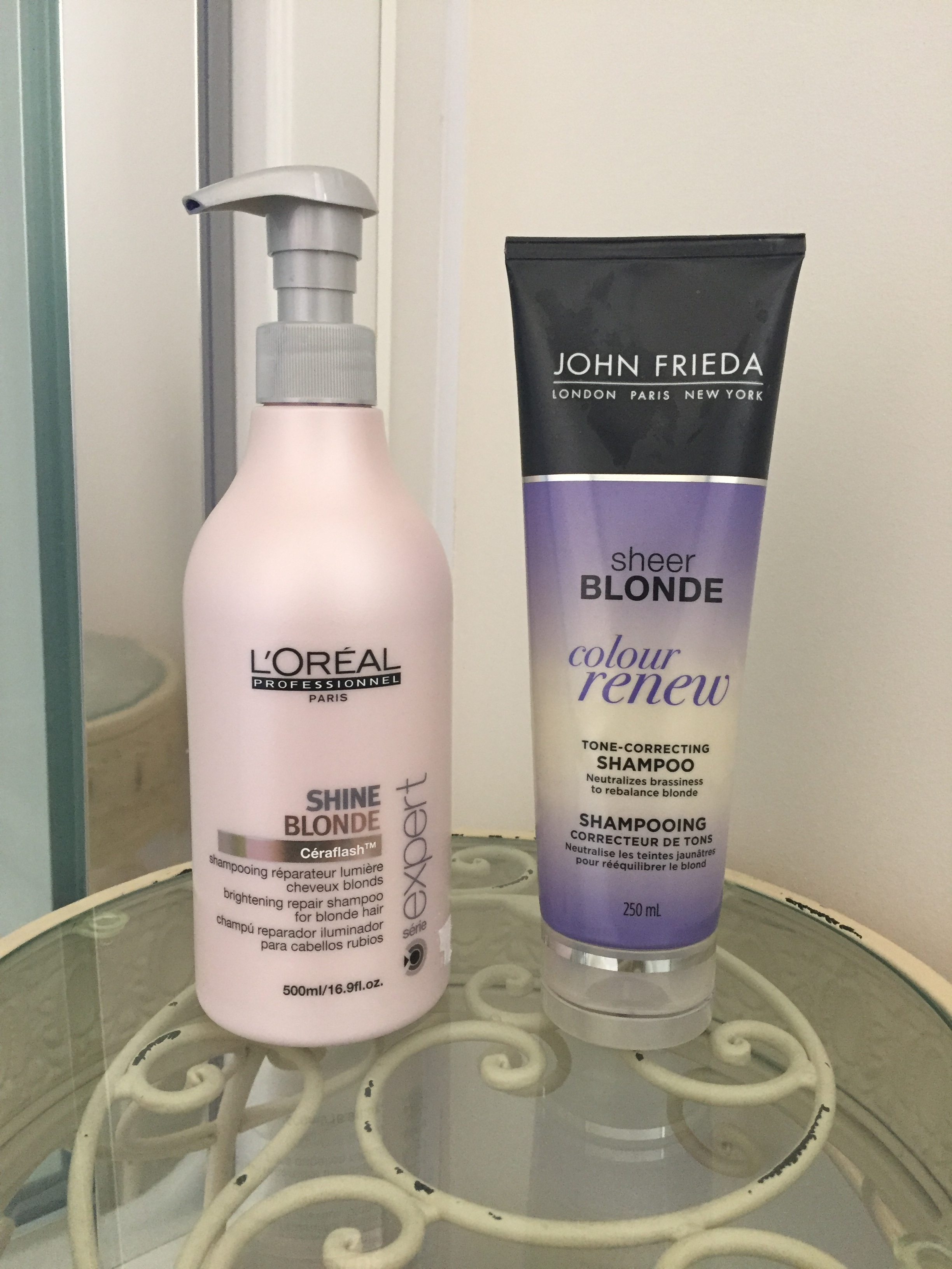 My experience with purple shampoo drugstore vs salon for Salon quality shampoo