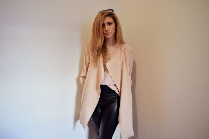 OOTD: Draped Coats Always Provide EffortlessStyle